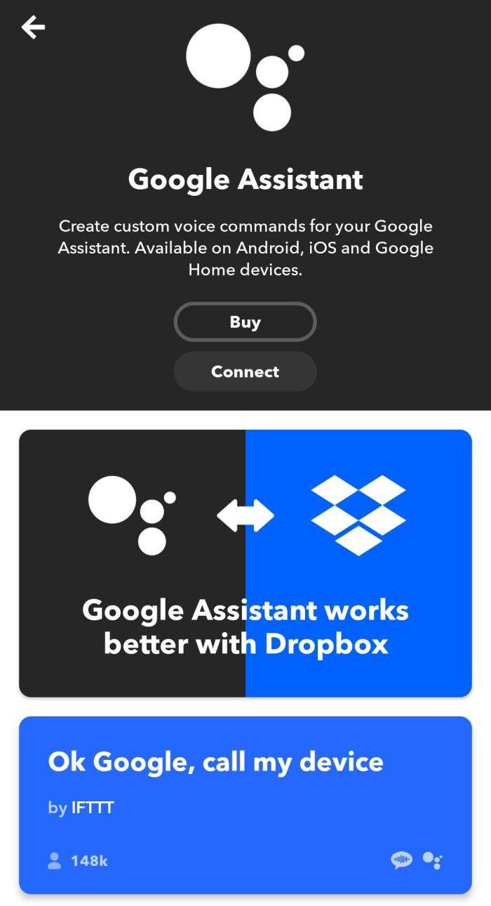 Creare automatismi con Google Assistant