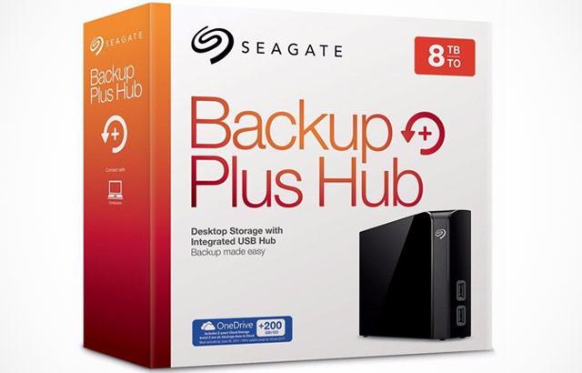 Il disco fisso esterno di Seagate da 8 TB