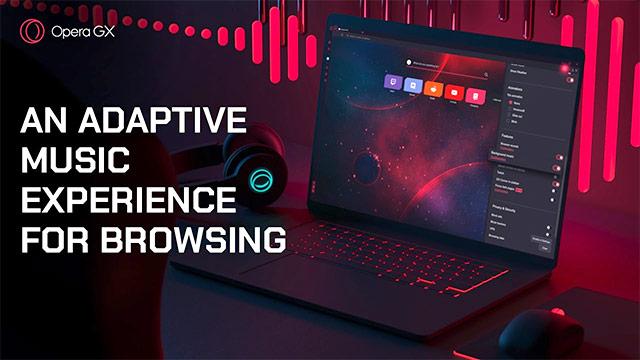 Opera GX porta la musica nel browser