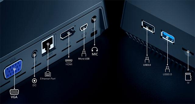 ACEPC T11, il Mini PC con processore Intel e Windows 10: le porte di connessione
