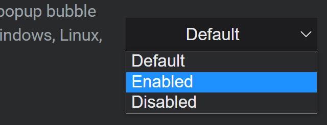 Come attivare la funzionalità Tab Search di Chrome: step 2