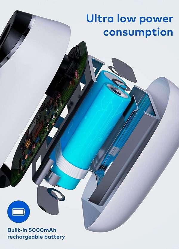 Videocamera Videosorveglianza Esterna Full HD Ricaricabile Ihoumi - 1