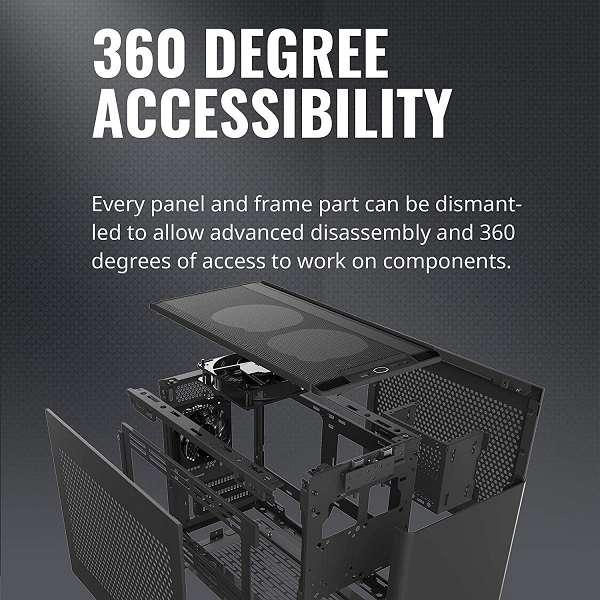 Case Mini-ITX Cooler Master SR200 - 1